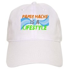 Paper Mache is a lifestyle Baseball Cap