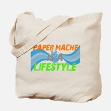 Paper Mache is a lifestyle Tote Bag