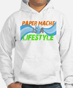 Paper Mache is a lifestyle Hoodie