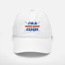 im a paper mache expert Baseball Baseball Cap