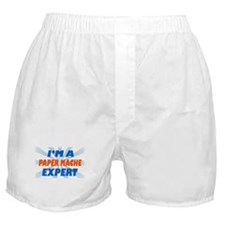 im a paper mache expert Boxer Shorts