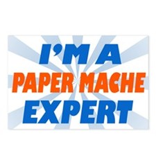 im a paper mache expert Postcards (Package of 8)
