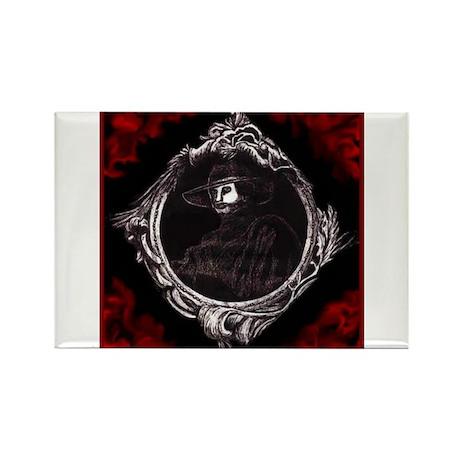 Phantom (Red) ~ Rectangle Magnet