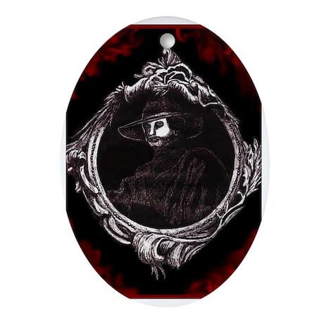 Phantom (Red) ~ Oval Ornament