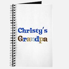 Christy's Grandpa Journal