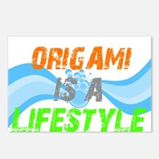 Origami is a lifestyle Postcards (Package of 8)