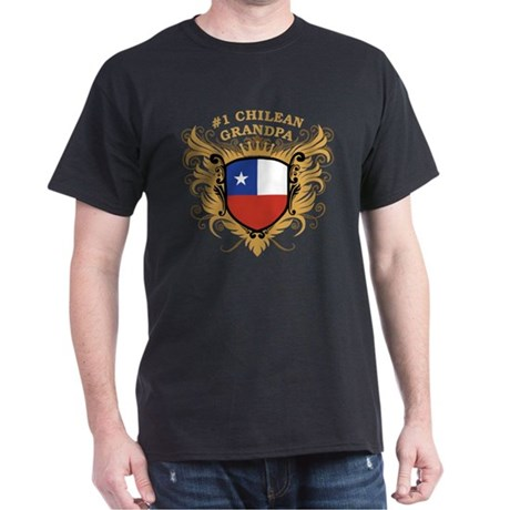 Number One Chilean Grandpa Dark T-Shirt