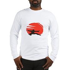 I Love Eagles Long Sleeve T-Shirt