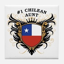 Number One Chilean Aunt Tile Coaster