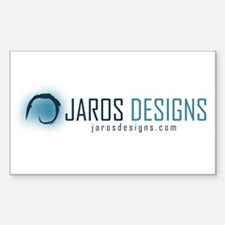 Jaros Designs Rectangle Decal