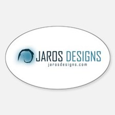 Jaros Designs Oval Decal