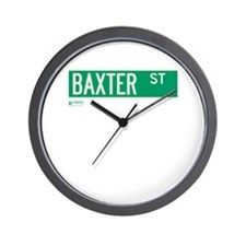 Baxter Place in NY Wall Clock