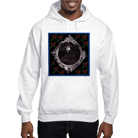Phantom (with Red Roses) ~ Hooded Sweatshirt