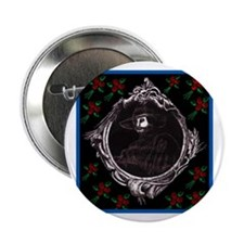 "Phantom (with Red Roses) ~ 2.25"" Button"