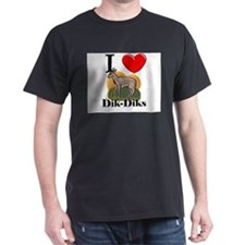 I Love Dik-Diks T-Shirt