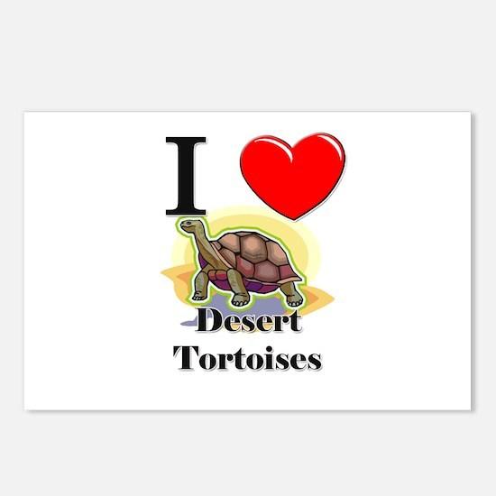 I Love Desert Tortoises Postcards (Package of 8)