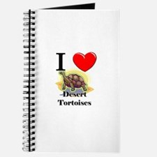 I Love Desert Tortoises Journal