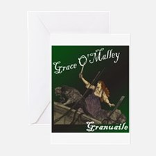 Grace O'Malley (Granuaille) Greeting Cards (Packag