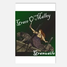 Grace O'Malley (Granuaille) Postcards (Package of
