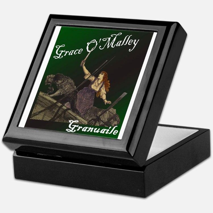 Grace O'Malley (Granuaille) Keepsake Box