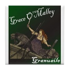 Grace O'Malley (Granuaille) Tile Coaster