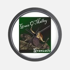 Grace O'Malley (Granuaille) Wall Clock
