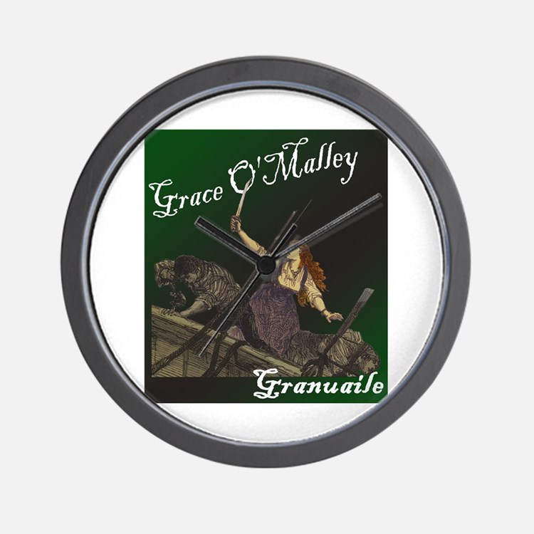 Grace O'Malley (Granuaille) Wall Clock