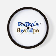 Erika's Grandpa Wall Clock