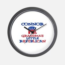 Connor - Grandma's Little Rep Wall Clock