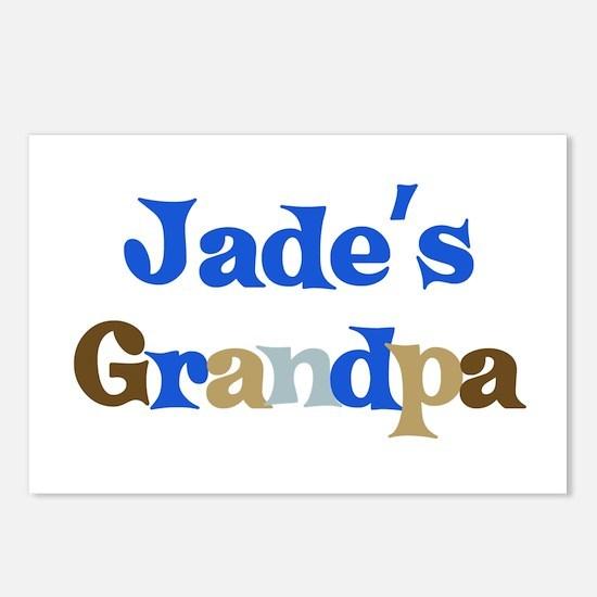 Jade's Grandpa Postcards (Package of 8)