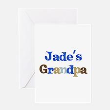 Jade's Grandpa Greeting Card