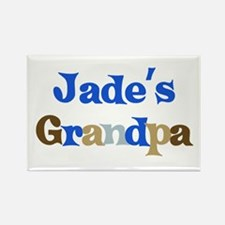 Jade's Grandpa Rectangle Magnet