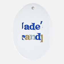 Jade's Grandpa Oval Ornament