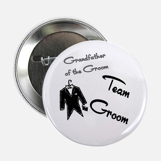 """Grandfather of the groom butt 2.25"""" Button"""
