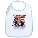 Uncle Sam Anti Liberal Bib