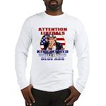 Uncle Sam Anti Liberal Long Sleeve T-Shirt