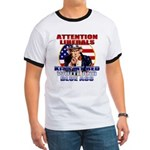 Uncle Sam Anti Liberal Ringer T