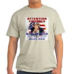Uncle Sam Anti Liberal Ash Grey T-Shirt