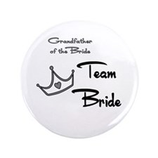 "Grandfather of the Bride Butt 3.5"" Button"