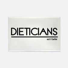 Dietician Joke Rectangle Magnet