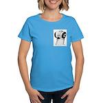 Budapest Shortface Pigeon Women's Dark T-Shirt