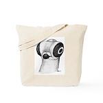 Budapest Shortface Pigeon Tote Bag