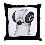 Budapest Shortface Pigeon Throw Pillow