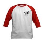 Budapest Shortface Pigeon Kids Baseball Jersey