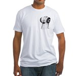 Budapest Shortface Pigeon Fitted T-Shirt