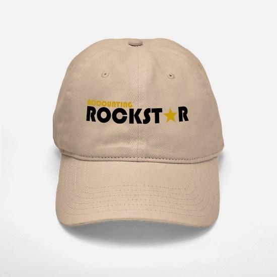 Accounting Rockstar2 Baseball Baseball Cap