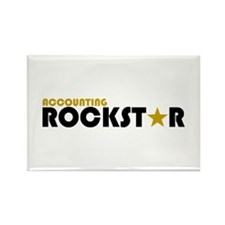 Accounting Rockstar2 Rectangle Magnet