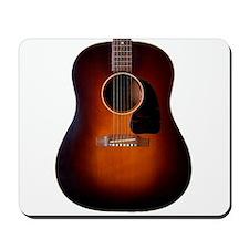 Classic Vintage Gibson sunburst on a Mousepad