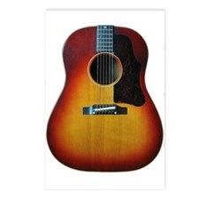 Acooustic Guitar Postcards (Package of 8)