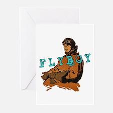 FLYBOY Vintage Pilot Greeting Cards (Pk of 10)